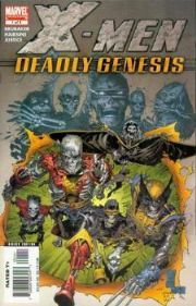 X-Men Deadly Genesis Comics